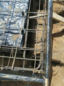 Свайно-ростверковый фундамент в ст. Нива