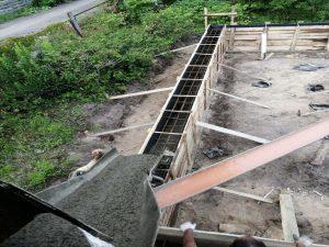 Свайно-ростверковый фундамент в ст. Авиатор