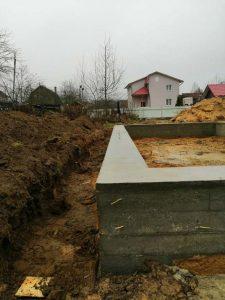 Свайно-ростверковый фундамент в ст. Спутник