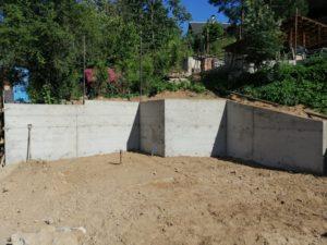 готовая подпорная стена
